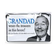Grandad Humorous Tin Plaque